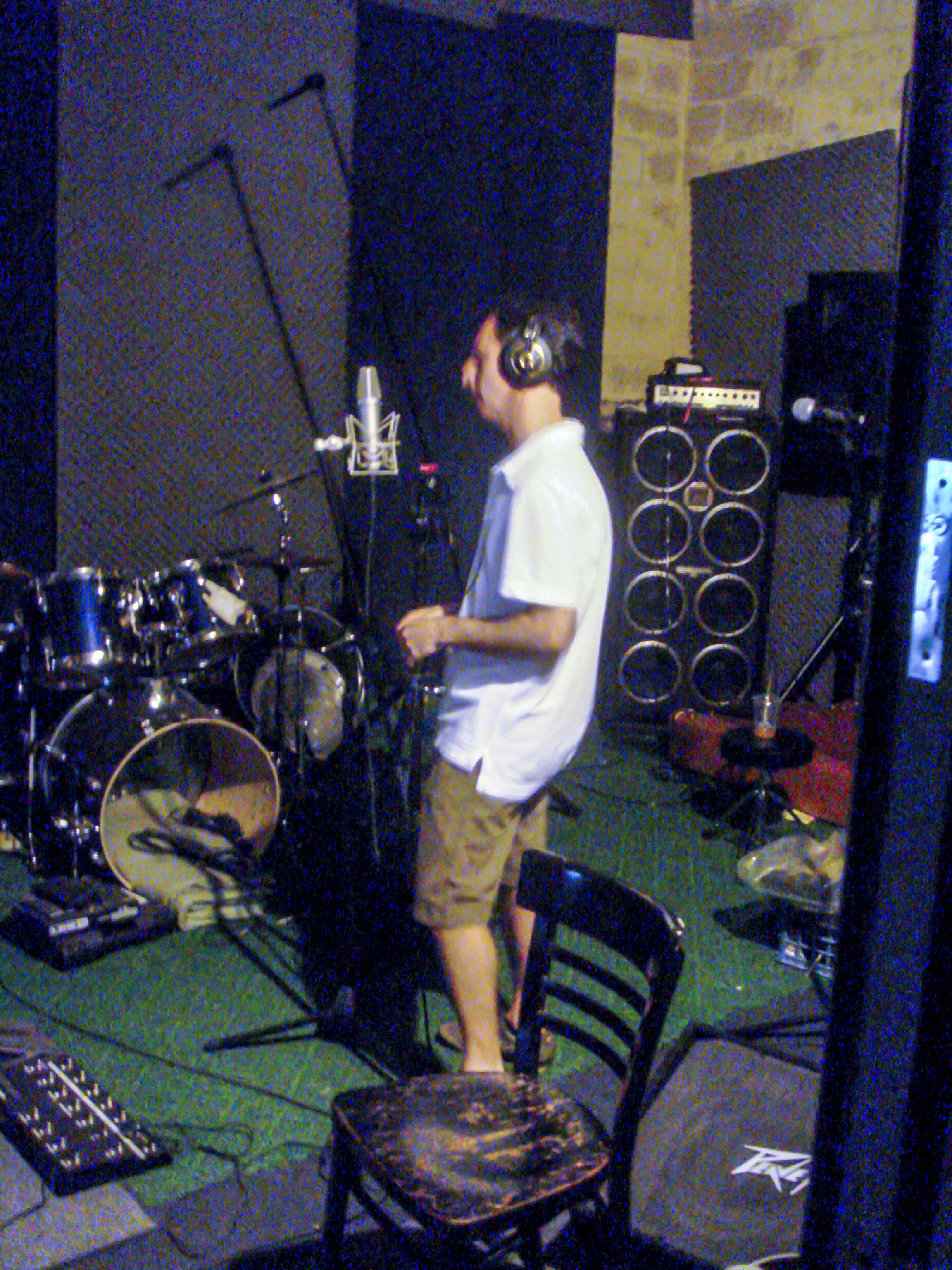 Sineparade Steve Tracking Vocals