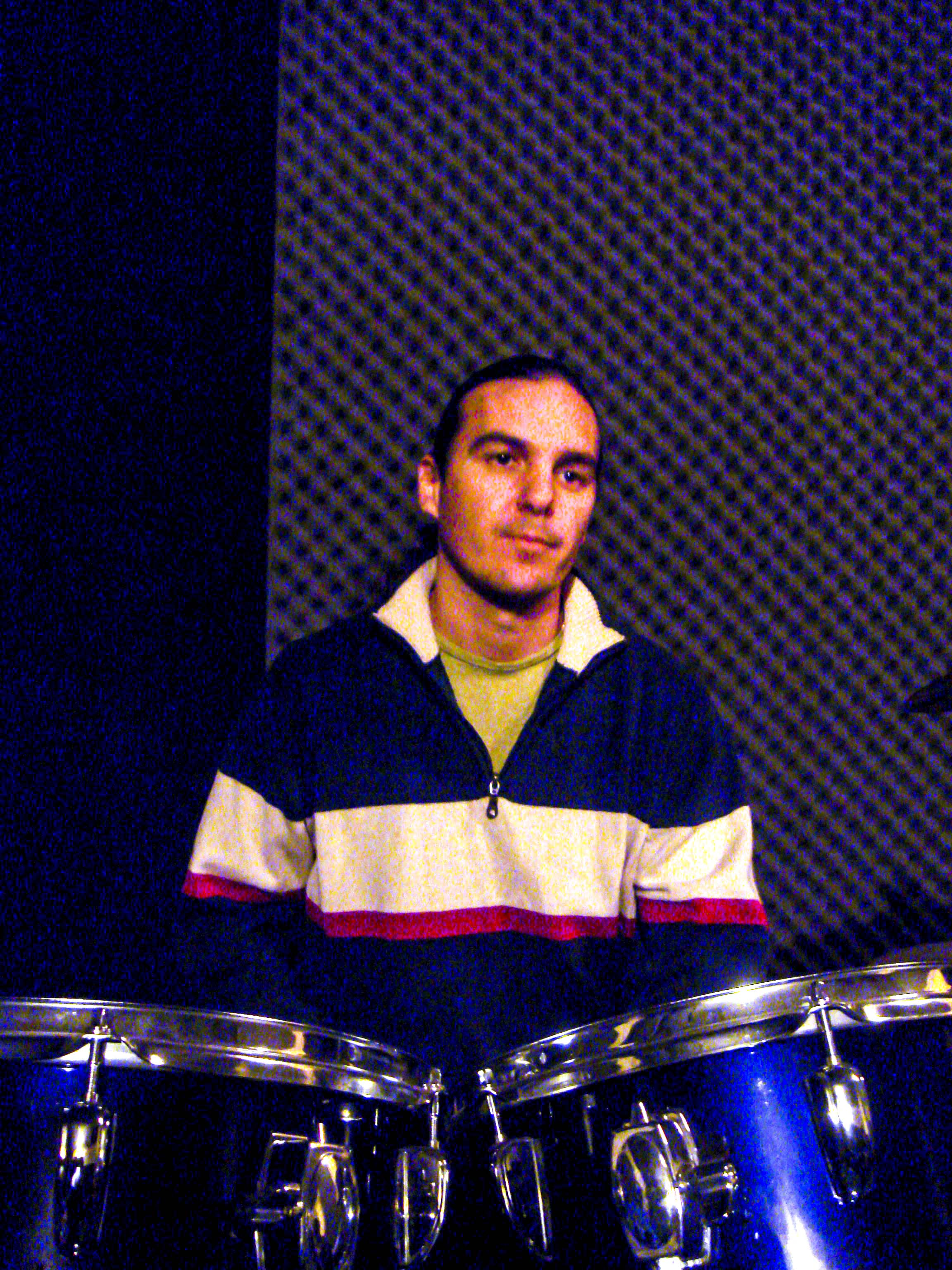 Alex Garcia On Drums