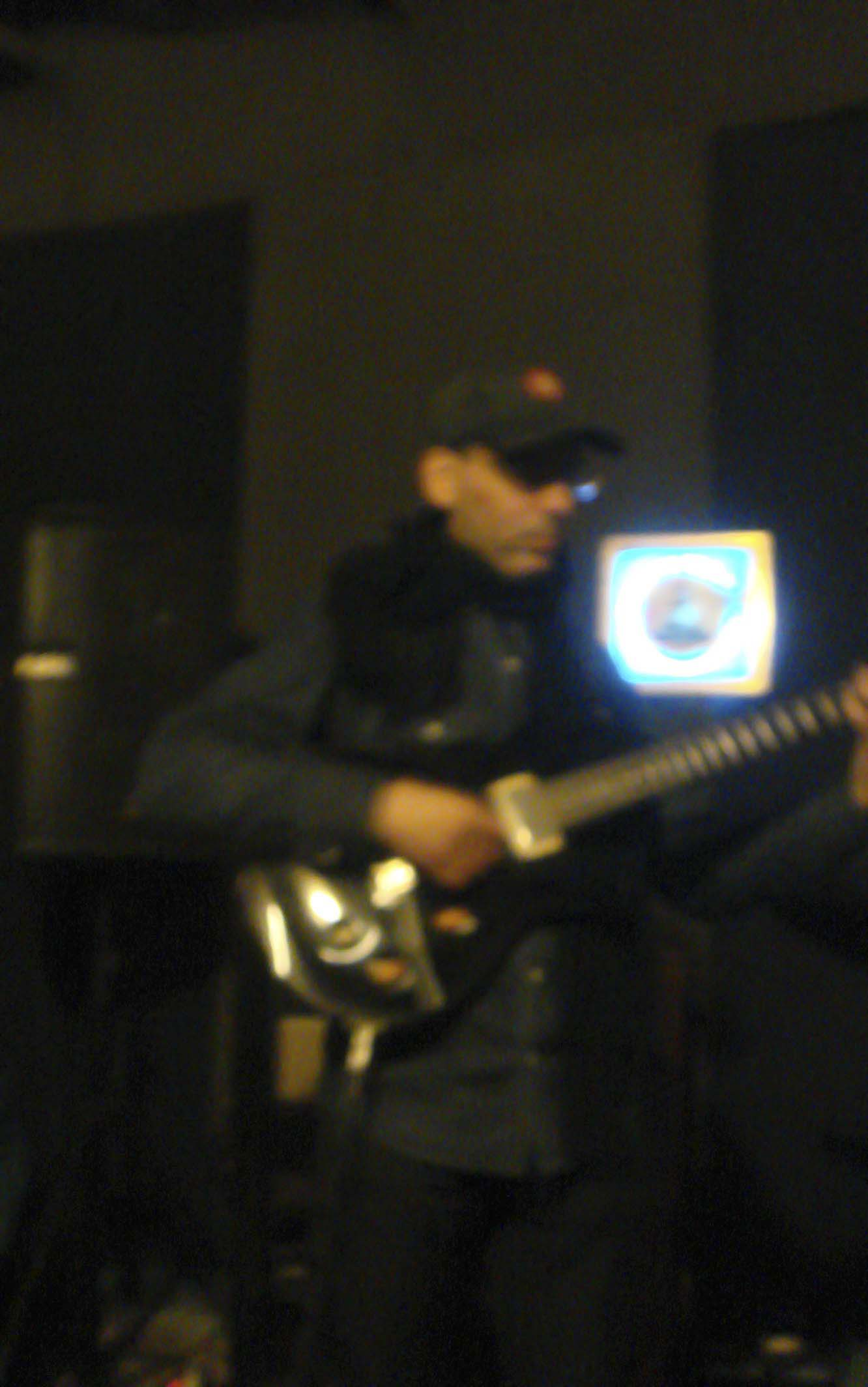 Javier In The Studio