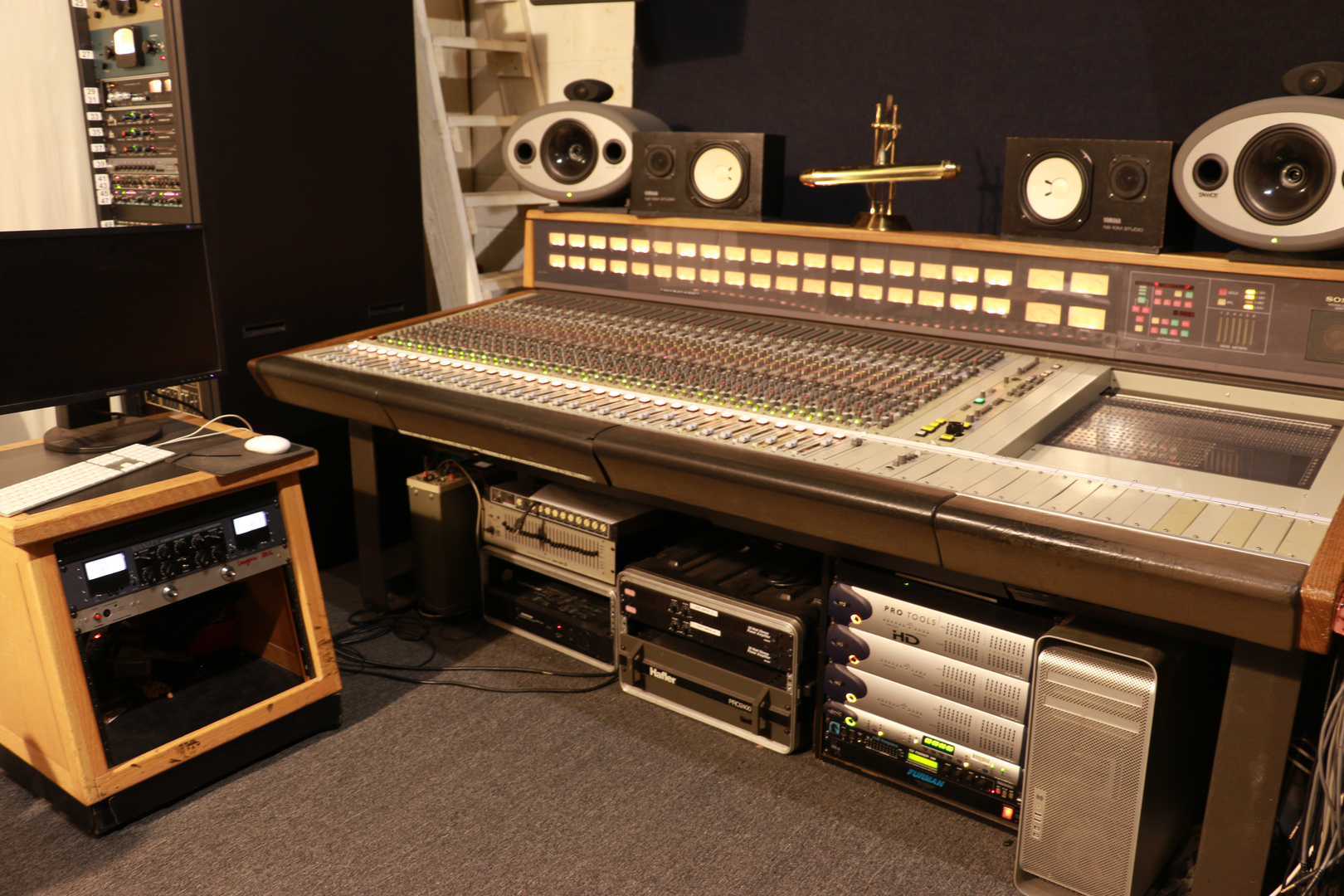 Supergiraffe Analog Mixing Console