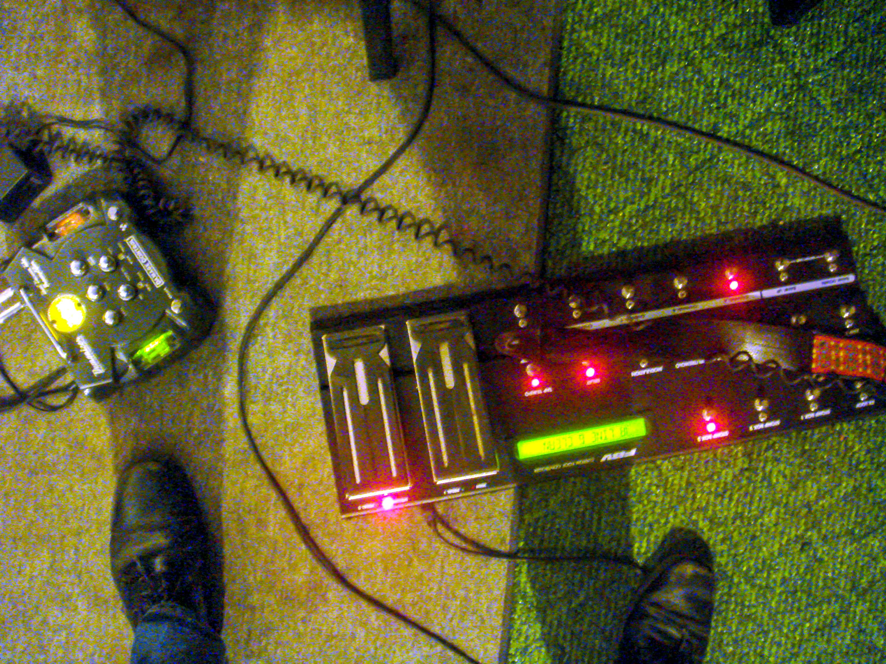 Javier's Pedal Setup For Sineparade