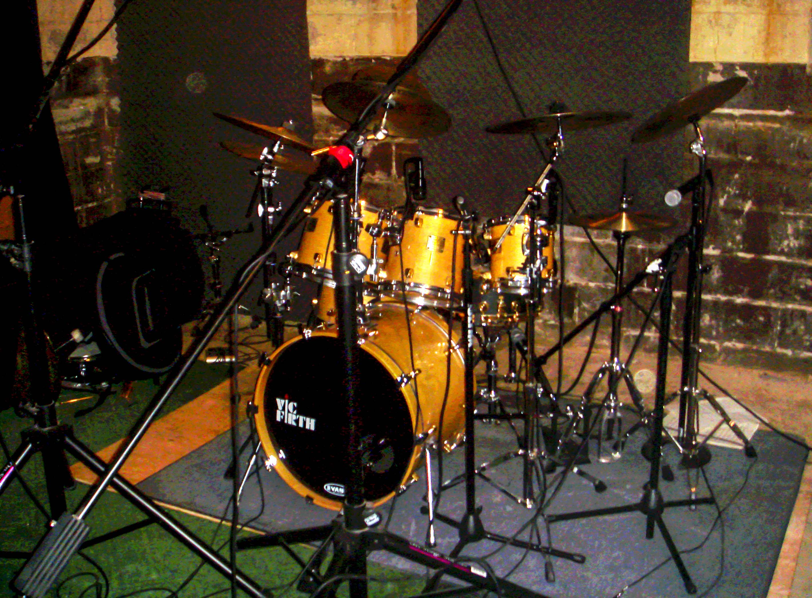Alex Garcia Drum Setup For Sineparade